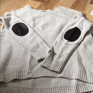 JCrew elbow patch sweater